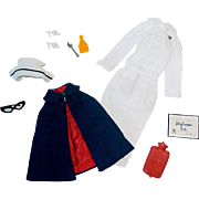 Vintage Barbie Fashion ~ #991 Registered Nurse Outfit ~ Complete
