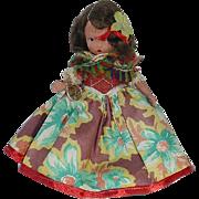 Vintage Nancy Ann Storybook Doll Bisque ~ Around The World Series ~ Portuguese