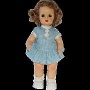 Vintage Terri Lee ~ Tiny Terri Lee Doll wTagged Complete Blue School Dress