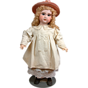 SOLD Exquisite Early 20th Century Vintage Cream Top Coat For Your Finest Antique Dolls!