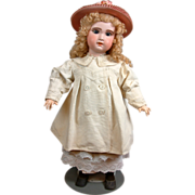 SOLD Excellent Condition 1890s Antique Cotton Twill Topcoat for Your Best Antique Doll!