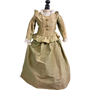 SOLD Victorian Bebe Dress C. 1880 In the Style of 17th Century Opera Costume