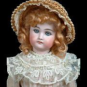 "Precious 17"" Closed Mouth Kestner German Fashion ""Poupee"" Doll"