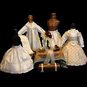 Superb 12 Piece Maison Huret Trousseau Including Mode Enfantine Dress, Underwear and ...