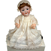 "SALE Rare All Original 21"" Antique Bisque Character Baby Kammer & Reinhardt 126 – Pristine"