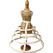 Very Special Hoop Skirt for Fashion Poupee C. 1865