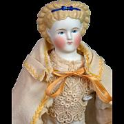 SALE Fabulous Huret Era c.1850 Antique Cream Wool Cape for Fashion or China Doll ...