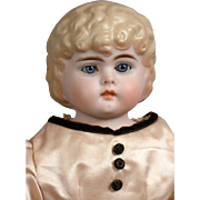 "SALE Extremely Rare 18.5"" Bahr & Proschild 326 Tinted Bisque Child With Glass Eyes and .."