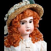 "SALE Regal 30.5"" Tete Jumeau Bebe Size 14 French Antique Bebe Doll C. 1890"