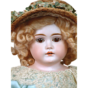 """SALE The Most Beautiful 20"""" Letter Kestner Lady With A Mint Pin Jointed Body & Perfect Ha"""