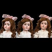 "A BEAUTY 31"" Kestner 171 Antique Bisque Doll w/Pristine Original Body & Desirable ""G"