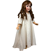 SALE Exquisite Snow White Pique Child's Gown With Hundreds of Feet of Soutache Trim ...