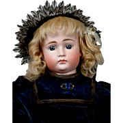 "SALE Gorgeous 23"" Closed Mouth Pouty Kestner Antique Child Doll!"