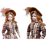"Perfect 15.5"" Jumeau French Fashion Poupee Doll With Original Dress Plus Antique Winter ."
