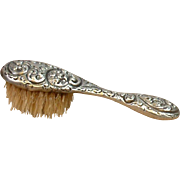 SALE Collector's Piece Sterling Silver Brush for Fashion Doll