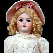 """Delightful 18"""" Heinrich Handwerck 'Daisy' Antique Doll C. 1910"""