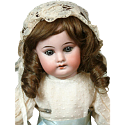 "Sweet Petite 13"" Antique Armand Marseille 1894 Bisque Doll Great Condition"