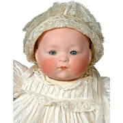 "Cute 9"" Heubach Koppelsdorf Dream Baby In All Original Costume"