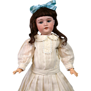 "SALE Lovely 21"" Antique German Doll Marked ""Princess"" attb to Armand Marseille"