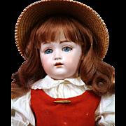 "Delightful 18"" Kestner 214 Antique Bisque Doll in Beautiful Antique Costume!"