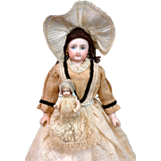 "Darling 11.5"" Victorian Nanny French Fashion Poupee By Francois Gaultier"