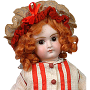 """SALE Sweet 14"""" Closed Mouth Pouty Belton For French Market"""