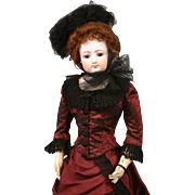 """SALE SPRING SALE Outstanding 25"""" Francois Gaultier French Fashion Poupee Doll 'Mlle Lucy'"""
