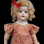 "Cute 21"" American Fulper Doll w/Blue Eyes & Cute Spring Costume"