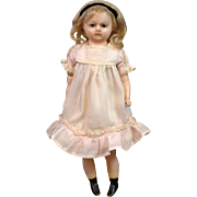 "SALE RARE Wax Doll 'Little Alice' 15"" in Original Antique Costume"