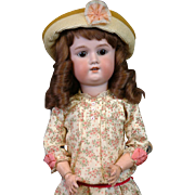 "SALE Darling 23"" Armand Marseille ""Floradora"" Antique German Girl in Spring Cos"