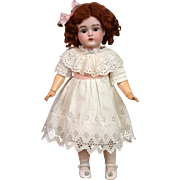 Gorgeous Condition Kestner 167 Antique Girl w/Excellent Original Stamped Body