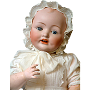 "SALE HUGE 27.75"" Franz Schmitt Baby With 19"" Head Circumference"