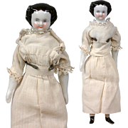 "SALE Petite China Twin Ladies 7.5"" Tall in Cute Antique Costume!"