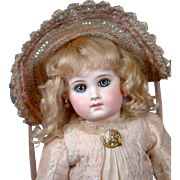 "SALE Early 17"" 'Bebe Incassable' By Emile-Louis Jumeau Known As Deluxe Portrait Model C ."