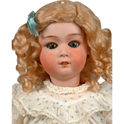 "Gebruder Heubach 8192 20.5"" Antique Bisque Doll in EXCELLENT Condition"
