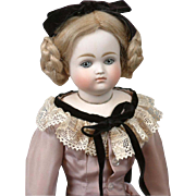 "Outstanding 15.5"" Pouting Closed Mouth Kestner 'Enfantine' Fashion Doll"