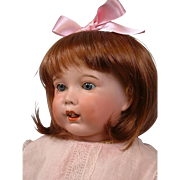 """RARE 20"""" SFBJ 251 Toddler with Blue Sleep Eyes and Bisque Tongue Oh Wow!"""