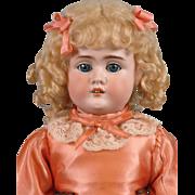 """SALE NEAR MINT 22"""" Strobel & Wilken Antique Doll on Outstanding Jubilee Kid Body!"""