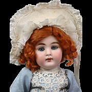 RARE Incredible Kestner 160 Antique Girl on Original Cryer Body