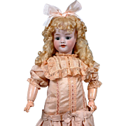 """SALE 22"""" Simon & Halbig 1039 Walk-Cry Antique Doll For The French Trade"""