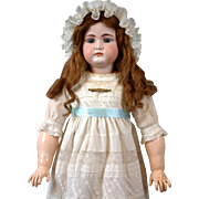 "Stunning 31"" Rare to Find Kammer & Reinhardt 192 All Antique Doll with Closed mouth & ..."