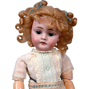 "Most Adorable Little Munchkin 10""  Fully Jointed Kestner 143 Character Antique Doll In Pe"