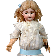 "17.5"" Rare Simon & Halbig 1039  Flirting Mechanical Roulet & Descamps Walking Doll For The ."