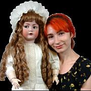 "31"" Kammer & Reinhardt 117n 'Mein Liebling' Flirty Character Antique Character Doll in An"