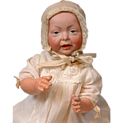 """Excellent Kaiser by K&R 15"""" Character Baby Antique Doll"""