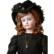 "30"" Kestner Swivel-Head Closed-Mouth Pouty Lady with 103 FACE  in All Original Victorian ..."