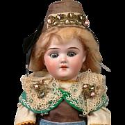 "*ALL-ORIGINAL* Regional Schoneau & Hoffmeister 5800 Antique Doll 14"""