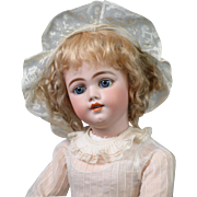 "26"" The Most Beautiful SIMON & HALBIG 1009 Early Bisque Head Child Doll is all Antique ..."