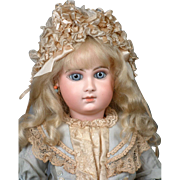 """Rare & Desirable 24"""" Early Jumeau Bebe Size 10 with Captivating Face! JUST WOW!"""