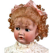 "28"" Kammer and Reinhardt 117n 'Mein Liebling' Flirty Character Child Doll"
